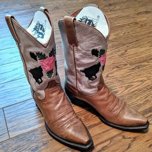 Eight Second Angel cowboy western boots NOT CORRAL